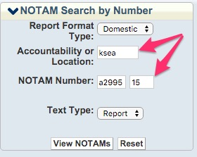 NOTAM_search example2