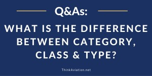What is the difference between Category, Class and Type?