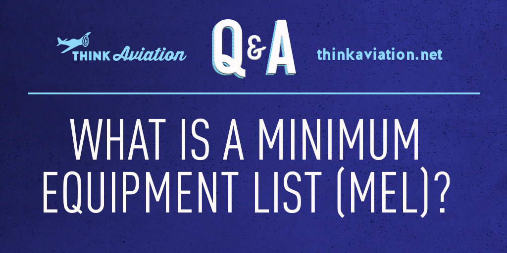 What is a minimum equipment list?