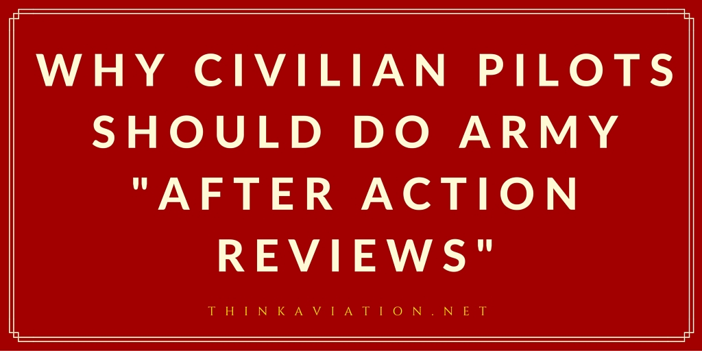 Why civilians should do Army after action reviews