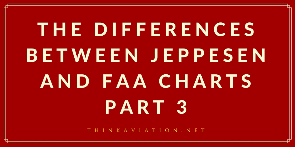 Differences between Jepp and FAA charts Part 3 Standard Instrument Departures