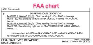 FAA route description