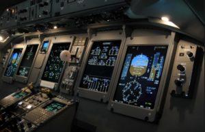 Q400 cockpit