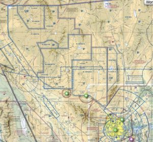 Nevada restricted airspace
