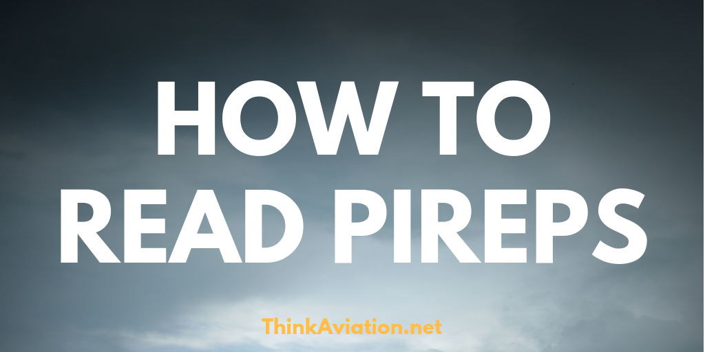 How to read PIREPs